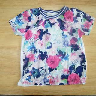MOTHERCARE used short sleeved t-shirt