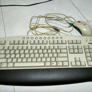 BenQ Desktop PC Keyboard And Mouse Set