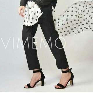 Sepatu Vimemo Aldera Black