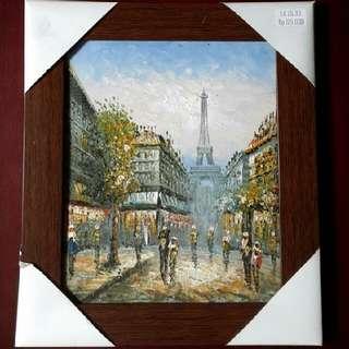 Lukisan Minyak Paris