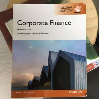 Corporate Finance • Third edition • Pearson