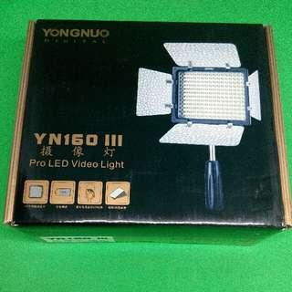 Yongnuo YN160 ||| LEAD Video Light