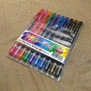 Dong-A My Gel 10-color Pen Set