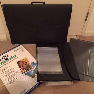 Photography art handcart+folder+bonus A3 Epson Matte paper 50X
