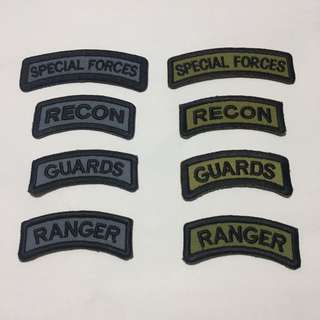 saf marksman recon guards ranger tab