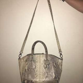 Real Snake Skin Bag