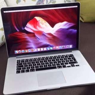Macbook Retina core i7 16gb 256gb 2014 15inch