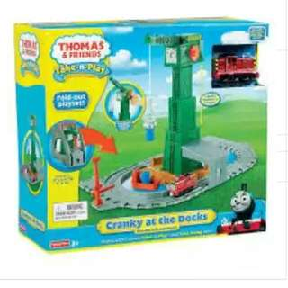 Thomas & Friends Take-N-Play Cranky At The Docks Playset