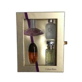 [Brand New] Calvin Klein Mini For Women Gift Set: Euphoria + Eternity + Obsession + CK One 15ml each