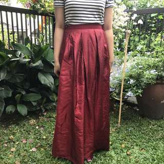 Red Poofy Skirt