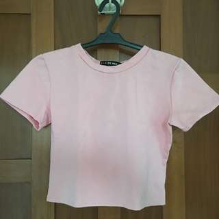 Pink Cropped top from Pink Manila