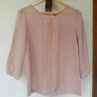 St.Yves Baby Pink Blouse