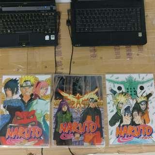 火影Naruto A4 File 日本原裝Jump Shop Osaka大阪購入