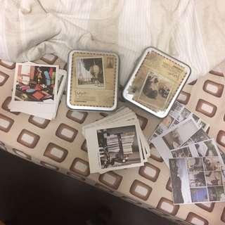 兩盒 韓國 攝影明信片