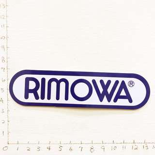 🚚 旅行箱領導品牌 Rimowa 防水貼紙 買五送一