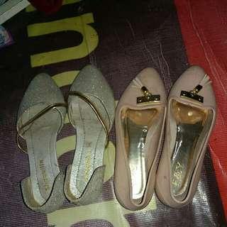 Flatshoes Jel And Glitter