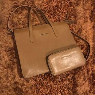 Lancaster Leather Bag and Wallet