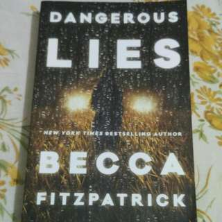 Dangerous Lies (By Becca Fitzpatrick)
