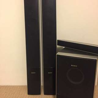 **Must go!** Sony Speakers + Subwoofer ONLY