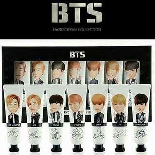 BTS × JSMD Hand Cream Collection