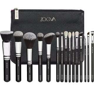 [PR] Authentic Zoeva Complete Set 15 brushes