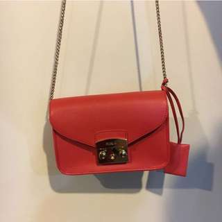 Furla shoulder bag in orange
