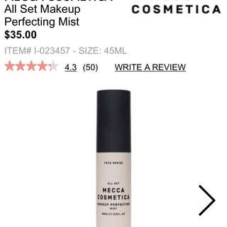 Mecca Makeup Perfecting Mist