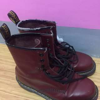 Dr. Martens Cherry Red