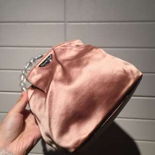 Christian Dior vintage satin handbag