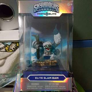 《BNIB》Skylander SuperCharges Elite Slam Bam