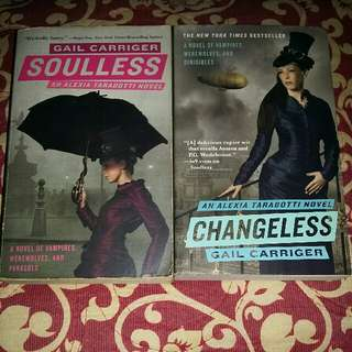 Changeless & Soulless by Gail Carriger