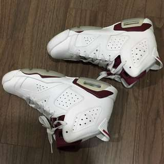 Air Jordan 6 Maroon GS