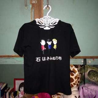 Korean black shirt