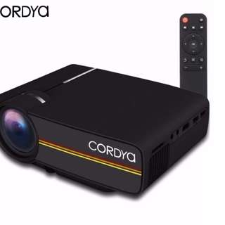 CORDYA YG-400 1080p LCD Portable Projector for Home Cinema Theater TV Free Delivery in all NCR Area Cash on Delivery Nationwide
