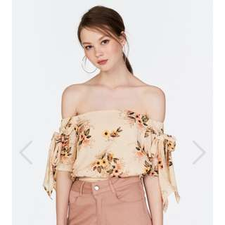 TCL Lenice Off Shoulder Top