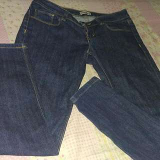Color box jeans
