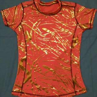 Baju olahraga bahan stret