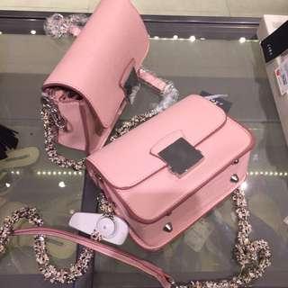 Zara Double Look Strap Floral Slingbag Original