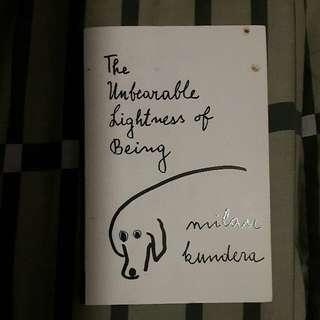 Unbearable Lightness Of Being - Milan Kundera