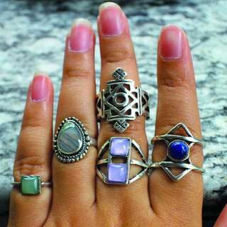 COSMIC RINGS by Krasa