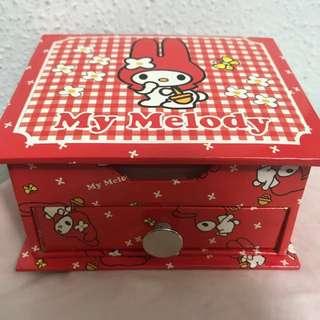 My Melody box w Memo