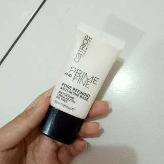 Catrice Prime And Fine Pore Refining Anti-Shine Base Primer