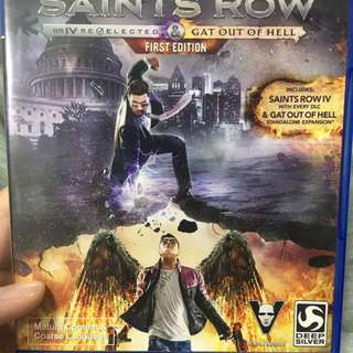 Saints row first edition