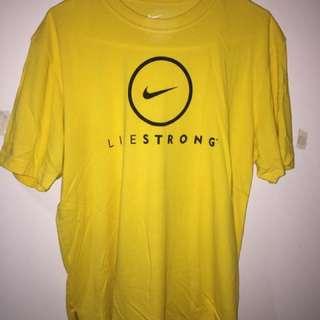 Nike Livestrong T-Shirt Size M