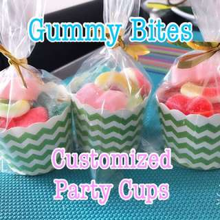 Gummy Cups for Birthday Party/Christening/Event/souvenirs