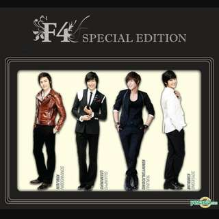 F4 Special Edition Soundtracks