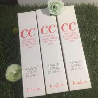 Banila CC whitening moisturising color control base