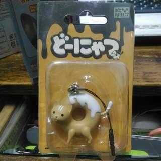 Donyatsu Donut Cat Strap