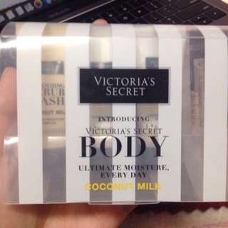 Victoria's Secret travel size Ultimate Moisture System