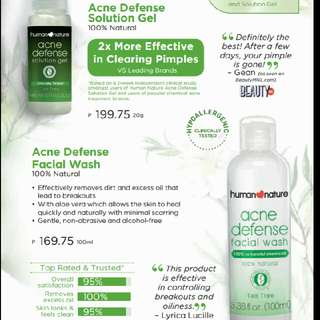 Human Nature Face Care 20%discount From The Picture's Price
